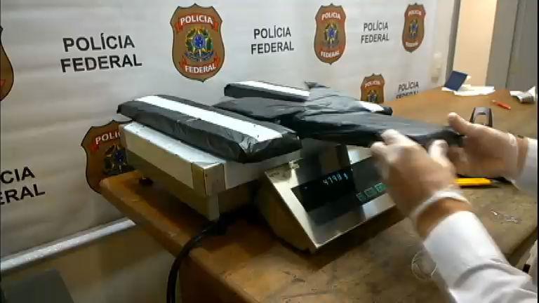 Universitário é preso com 6 kg de metanfetamina no aeroporto de SP