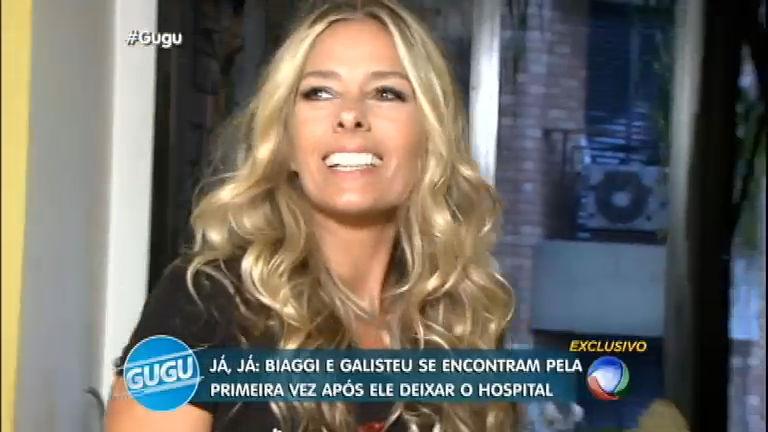 Galisteu invade entrevista e surpreende Marco Antônio de Biaggi ...