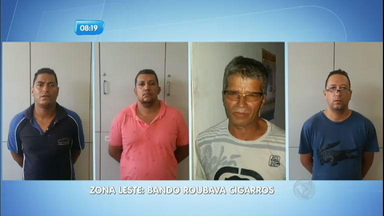Polícia prende quadrilha acusada de vender cigarros roubados ...