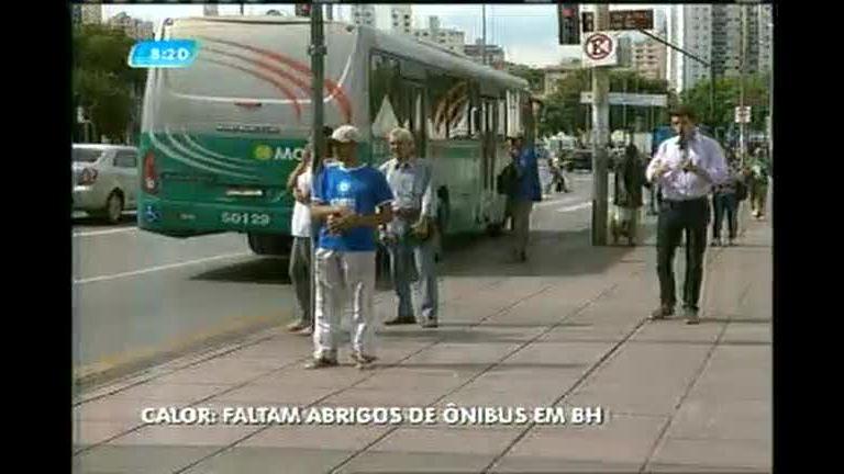 Usuários de transporte público sofrem com falta de abrigos de ...