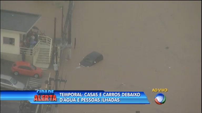 Temporal castiga cidades da grande São Paulo - Notícias - R7 ...