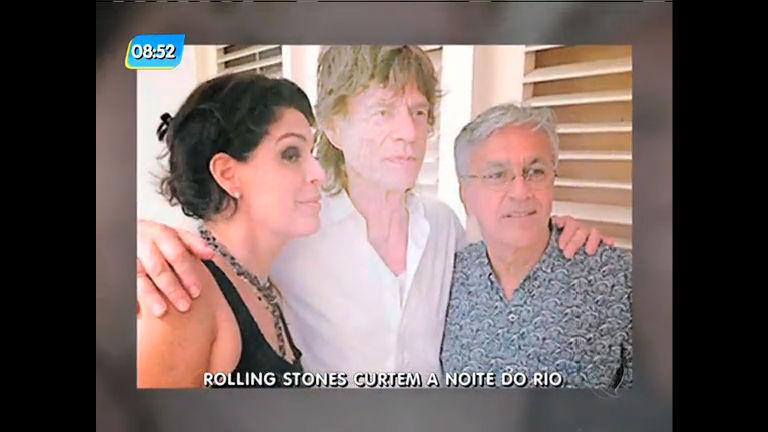 Rolling Stones foram a festa em Santa Teresa - Rio de Janeiro - R7 ...