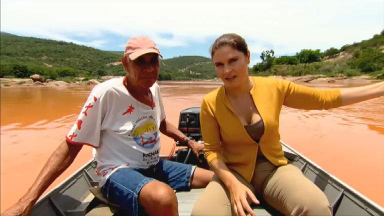 Contaminação do Rio Doce após rompimento de barragem ...