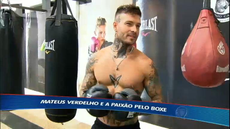 Mateus Verdelho mostra sua paixão pelo boxe - Esportes - R7 ...