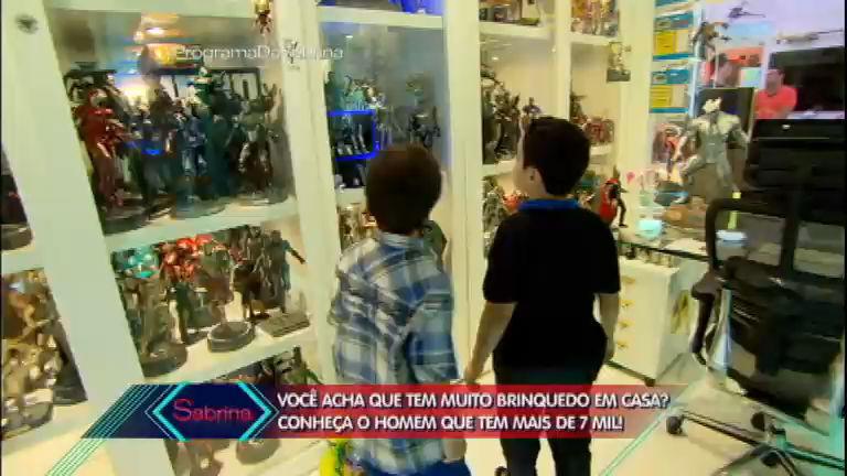 Casa dos sonhos: Breno e Gustavinho visitam lugar com sete mil ...
