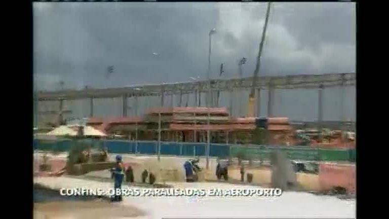 Aeroporto de Confins continua em obras - Minas Gerais - R7 MG ...