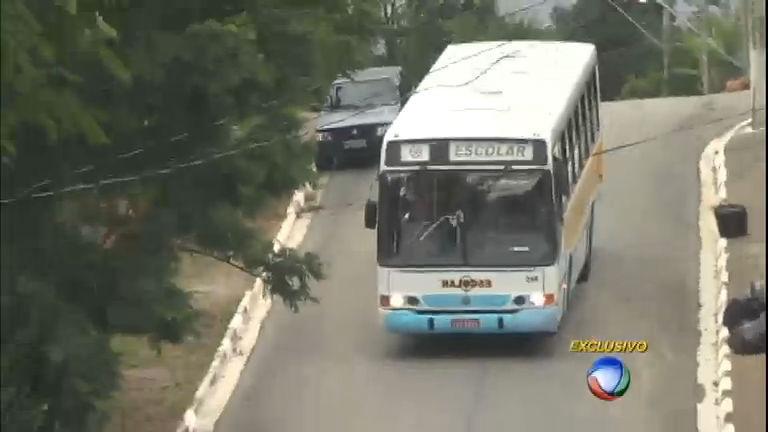 Irregularidades em transporte escolar colocam em risco segurança ...