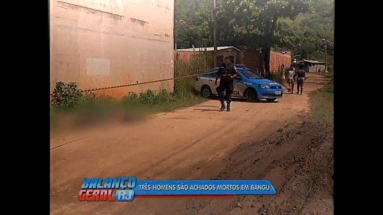 Três corpos são encontrados pela polícia em Bangu - Rio de ...
