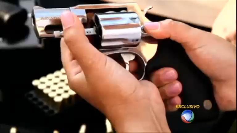 Armas brasileiras comercializadas na fronteira voltam ao País como ...