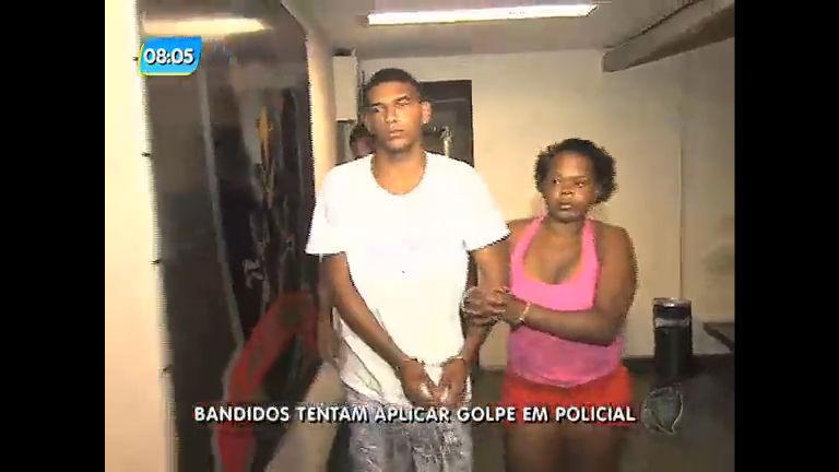 Casal é preso após tentar aplicar golpe em policial civil - Rio de ...