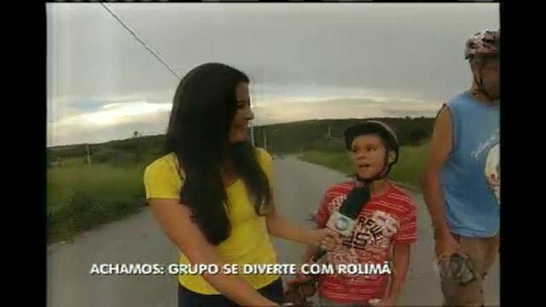 Achamos em Minas: jovens revivem carrinho de rolimã em Divinópolis
