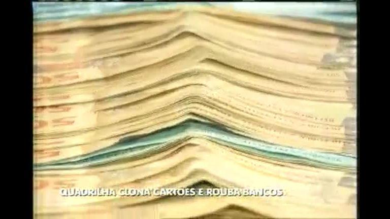Quadrilha presa clonava cartões e roubava bancos - Minas Gerais ...