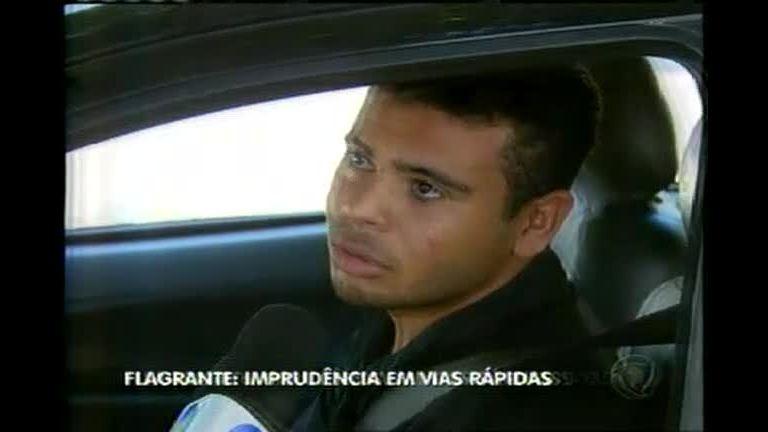 Imprudência em vias rápidas acaba em acidente - Minas Gerais ...