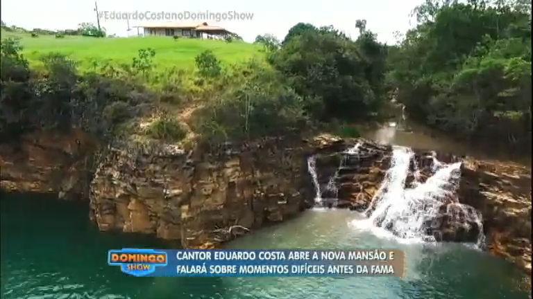 Geraldo Luís visita a luxuosa fazenda do cantor Eduardo Costa ...