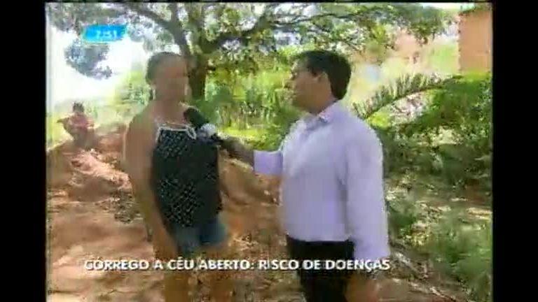 Moradores reclamam de sujeira em córrego de Sabará (MG) - Minas ...