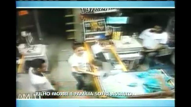 Família perde o filho em assalto e tem loja roubada novamente ...