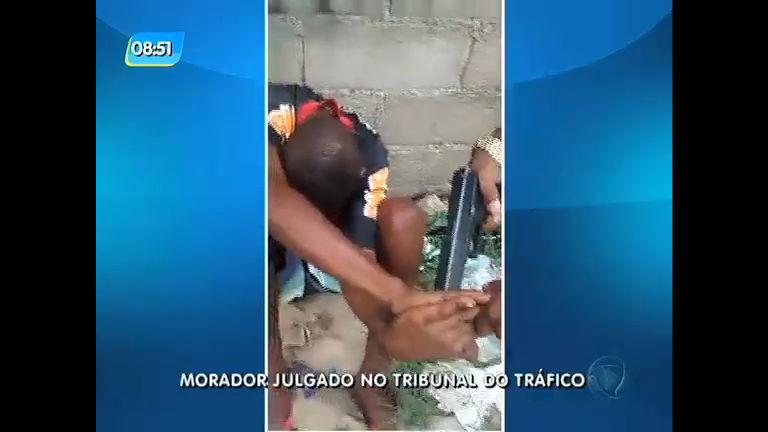 """Morador é ameaçado por """"tribunal do tráfico""""; veja vídeo - Rio de ..."""