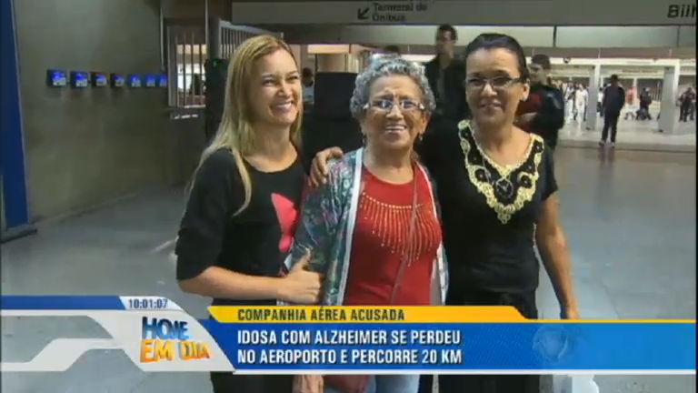Idosa com Alzheimer se perde em aeroporto de Guarulhos e ...