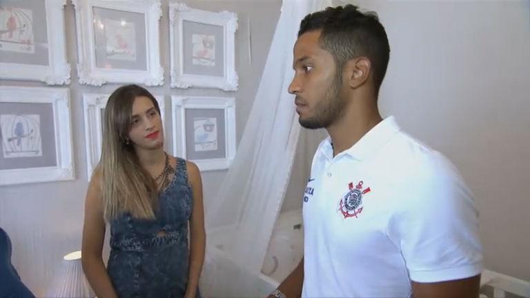 Zagueiro do Corinthians se prepara para ser pai; veja no Esporte ...
