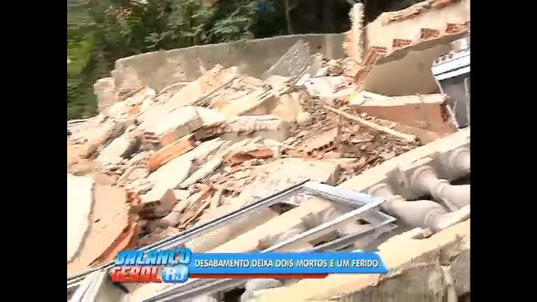 Desabamento de casa deixa 2 mortos em Cascadura - Rio de ...