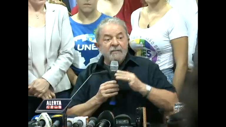 Acompanhe na íntegra o discurso do ex-presidente Lula após ...