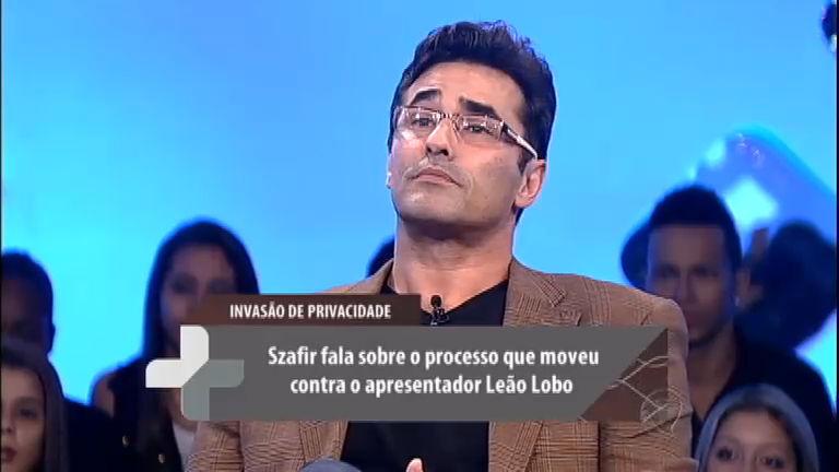 Luciano Szafir revela que ficou furioso com insinuação de Leão Lobo