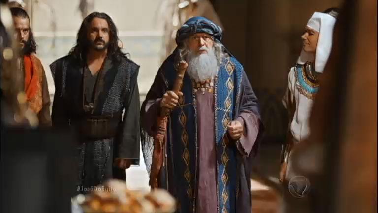 Faraó dá as boas-vindas a Jacó e aos irmãos de José - Rede Record