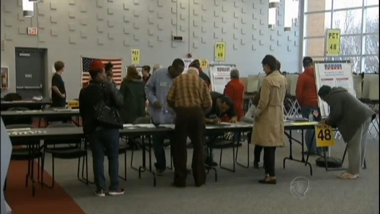 Americanos vão às urnas, em quatro estados, para eleger ...