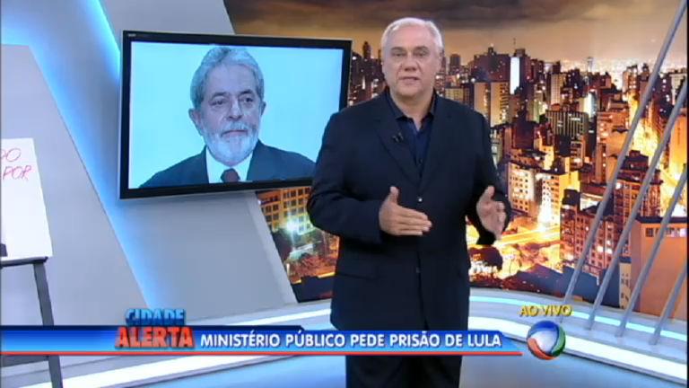 Promotores de São Paulo pedem prisão preventiva do ex-presidente Lula