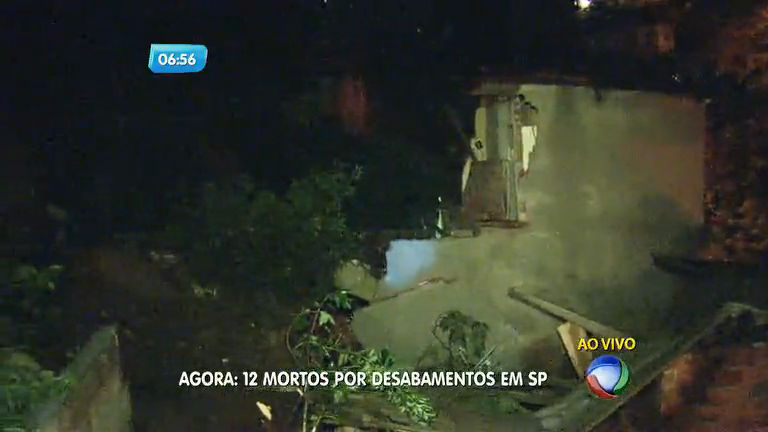 Deslizamento soterra três casas e deixa pelo menos cinco mortos ...