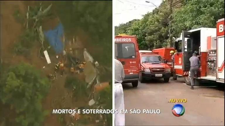 Bombeiros ainda procuram por nove desaparecidos em Mairiporã ...