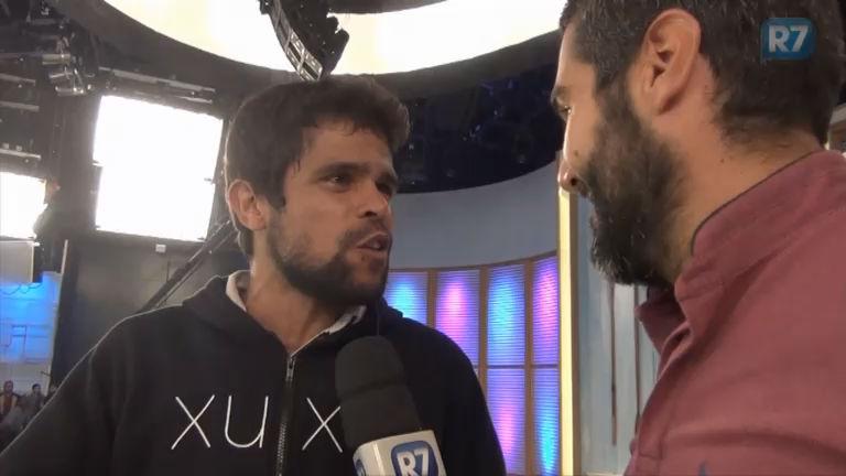 Fernando Sampaio mostra animação da plateia antes do Xuxa ...