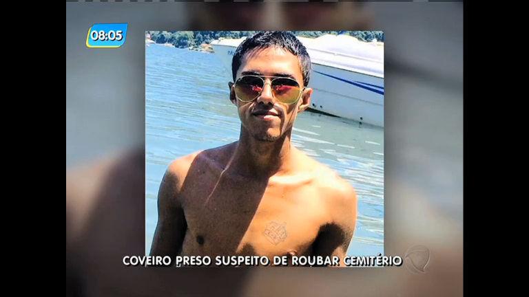 Coveiro é preso suspeito de roubar cemitério em Santa Cruz - Rio ...