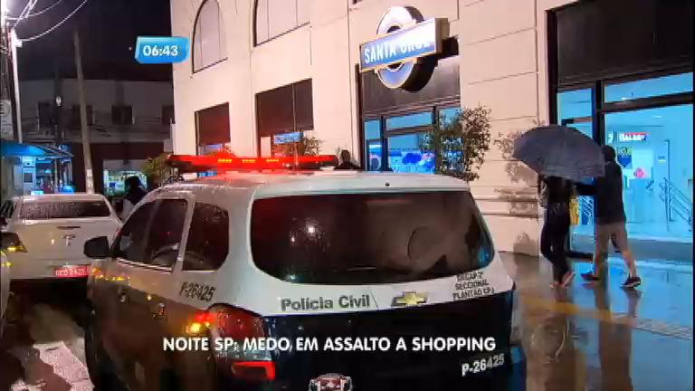 Quadrilha invade shopping Santa Cruz e assusta clientes - Notícias ...