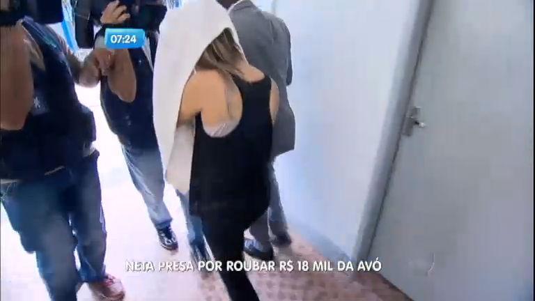 Jovem é presa por roubar R$ 18 mil da própria avó - Notícias - R7 ...