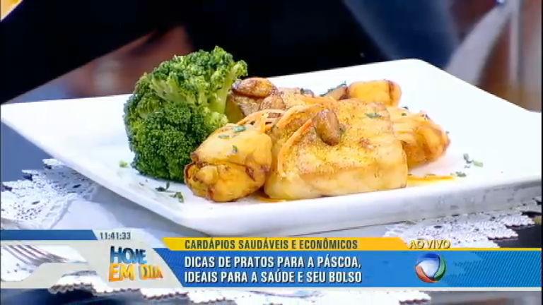 Páscoa: Hoje em Dia mostra dicas de pratos ideais para sua saúde e para o seu bolso