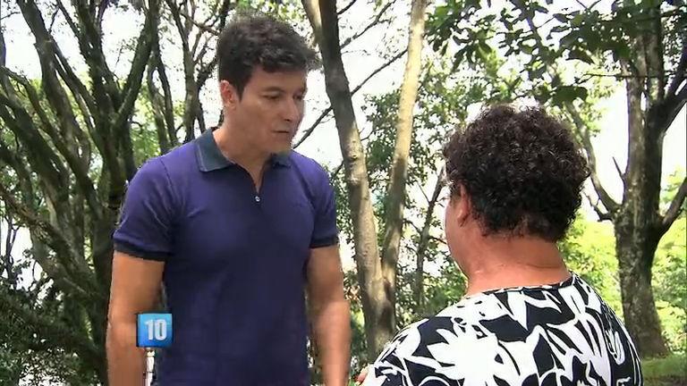 Horo do Faro mostra mãe e filho que não se encontram há 38 anos