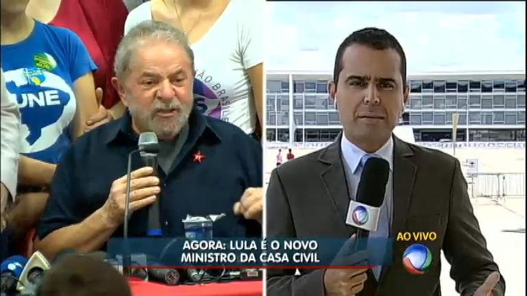 Lula é o novo ministro da Casa Civil, diz líder do governo na Câmara