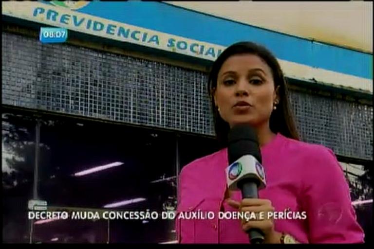 Decreto muda concessão do auxílio doença e perícias - Bahia - R7 ...