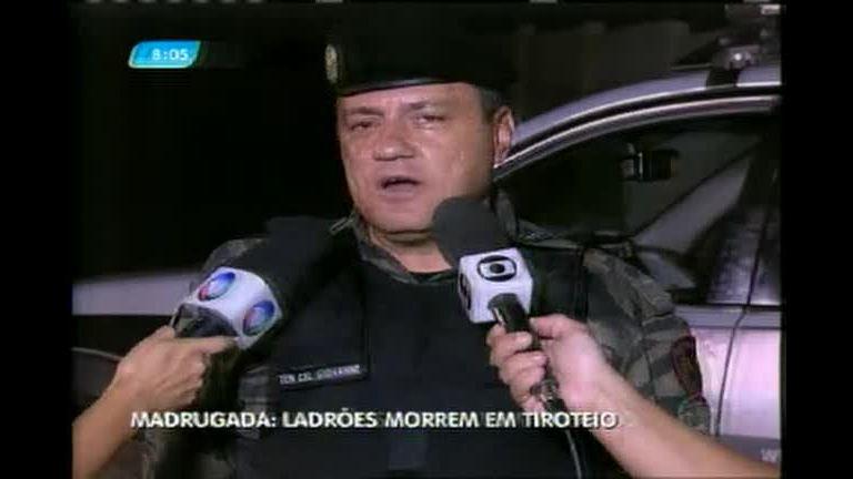 Integrantes de quadrilha são mortos em perseguição policial em ...