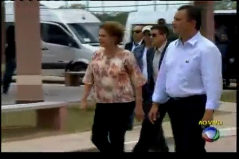 Dilma entrega casas em Feira de Santana - Bahia - R7 Cidade ...