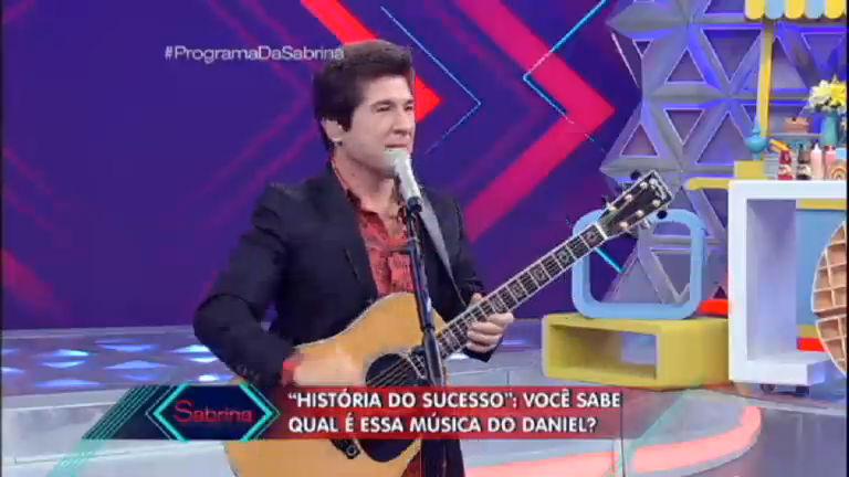 História do sucesso: plateia tenta adivinhar músicas de Daniel com ...