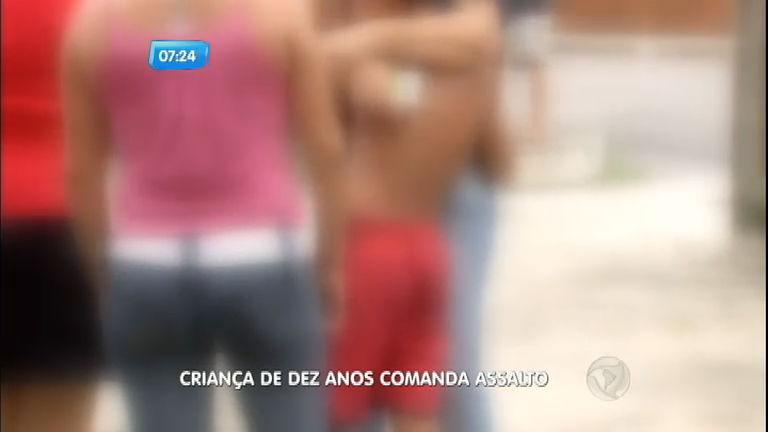 Criança de dez anos comanda assalto a ônibus em Belém ( PA ...