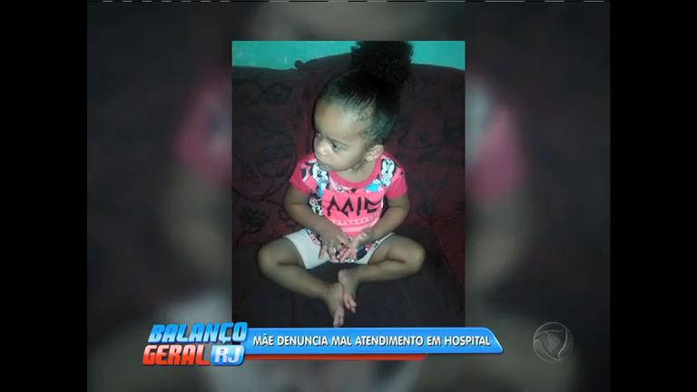 Menina de 2 anos morre em hospital municipal e mãe acusa médica de descaso