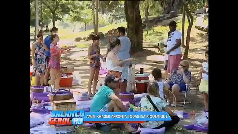 Piquenique ao ar livre ganha adesão de cariocas em busca de lazer