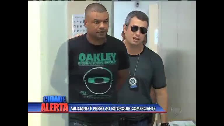 Suspeito de integrar milícia em Campo Grande é preso pela polícia ...