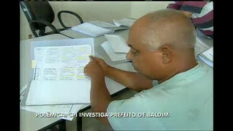 CPI investiga prefeito de Baldim - Minas Gerais - R7 MG Record