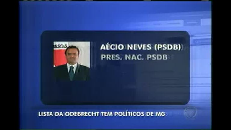 Lista da Odebrecht tem políticos de Minas - Minas Gerais - R7 MG ...