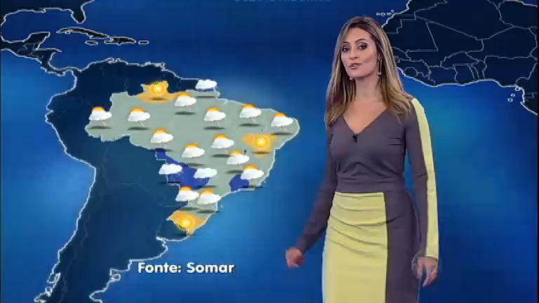 Confira a previsão do tempo para esta quinta-feira (24) em todo o ...