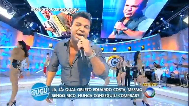 Eduardo Costa anima a plateia com o sucesso Pronto, Falei ...